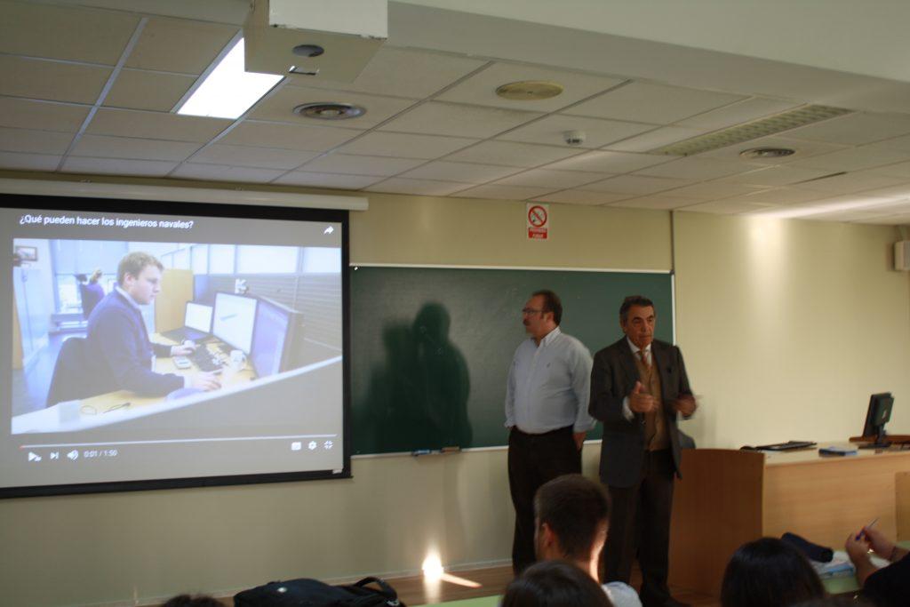 Presentación Colegio Oficial de Ingenieros Navales