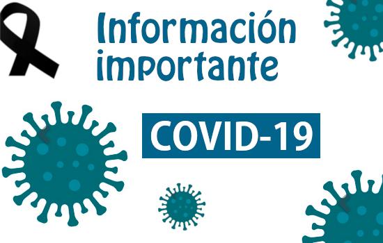 IMG Información importante: COVID-19