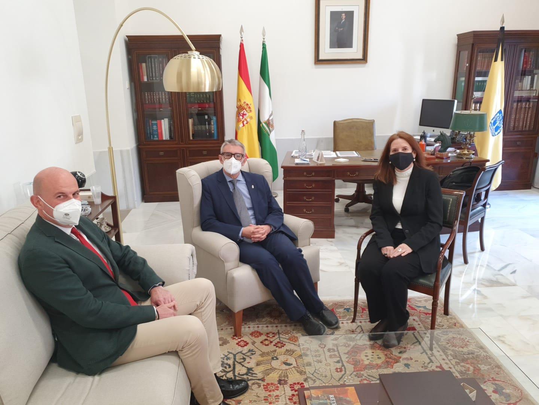 Reunión con el nuevo Director de Reparaciones de Navantia en la Bahía de Cádiz
